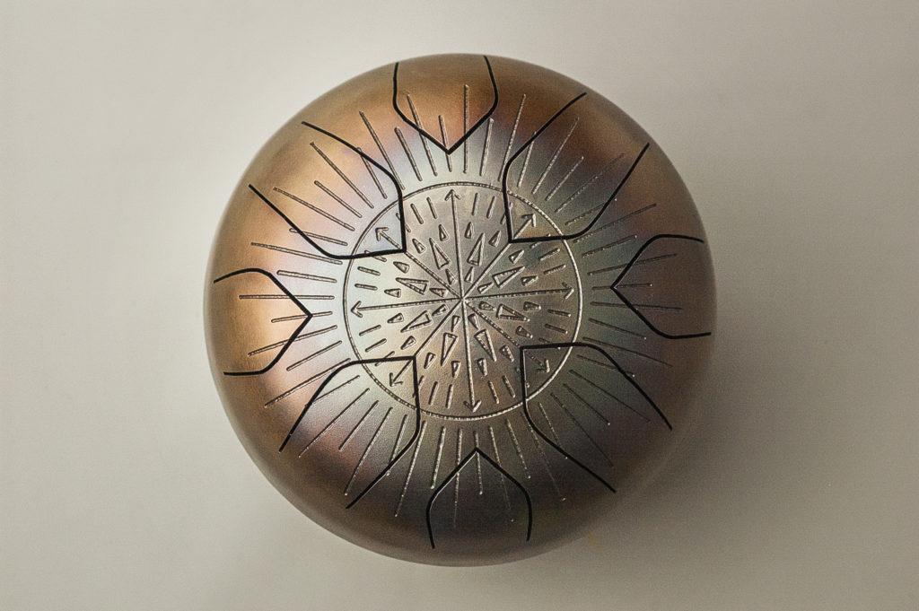 steel drum с рисунком
