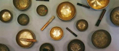 Тибетские поющие чаши в наличии