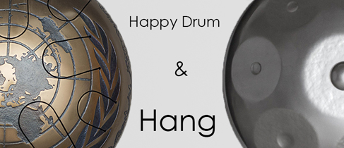 Comparison of Steel tongue drum and Hang (Handpan)